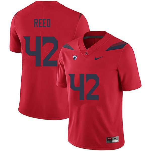 Men #42 Brooks Reed Arizona Wildcats College Football Jerseys Sale-Red
