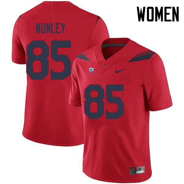 Women #85 Jamie Nunley Arizona Wildcats College Football Jerseys Sale-Red