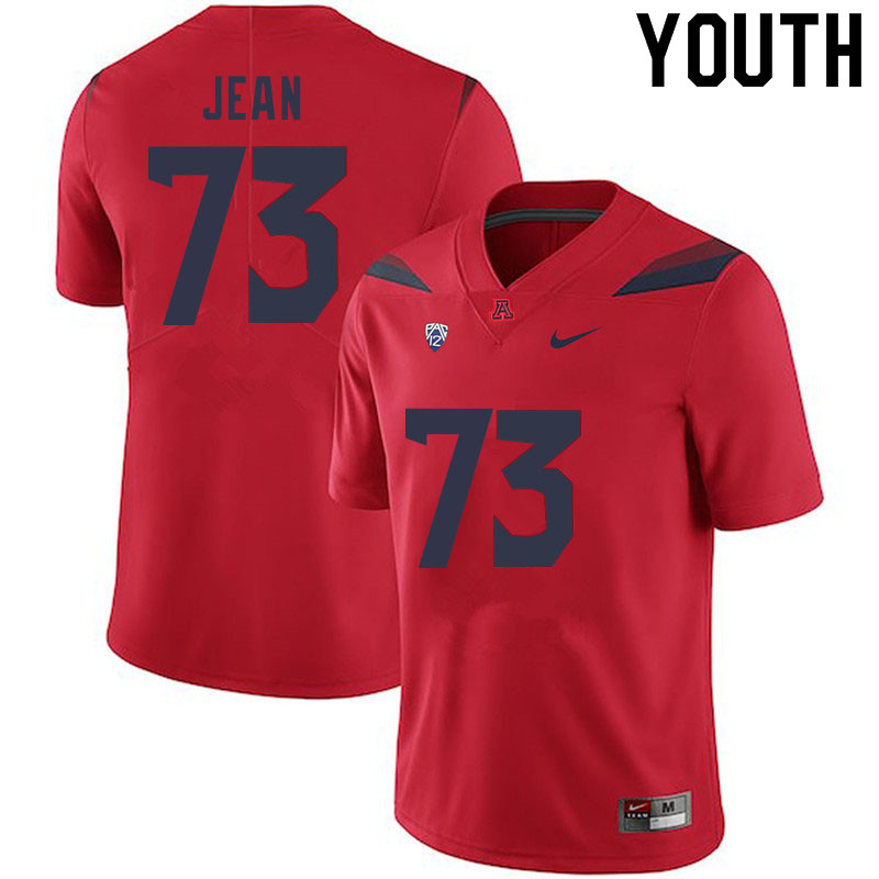 Youth #73 Woody Jean Arizona Wildcats College Football Jerseys Sale-Red